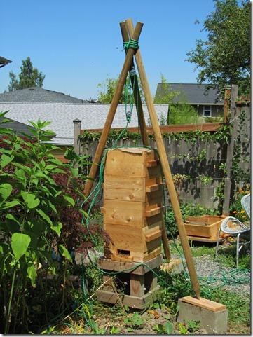 warre hive lift